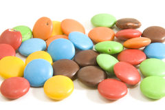 Chocolate pills Royalty Free Stock Images