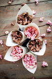 Chocolate popcorn Royalty Free Stock Image