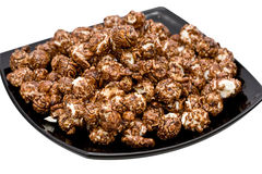 Chocolate Popcorn Royalty Free Stock Photography