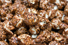 Chocolate popcorn Royalty Free Stock Images