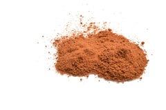 chocolate powder Royalty Free Stock Photography
