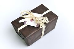 Chocolate and praline box Royalty Free Stock Images