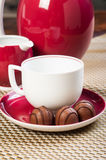 Chocolate praline Stock Images