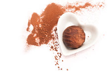 Chocolate praline Royalty Free Stock Images