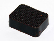 Chocolate praline. On white background Royalty Free Stock Photos