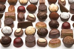 Chocolate Pralinen Stock Photography