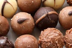 Chocolate Pralines Royalty Free Stock Photo