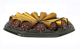 Chocolate pralines Stock Image