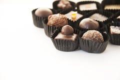 Chocolate pralines Stock Photography