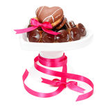 Chocolate Pralines And Cookies Stock Images