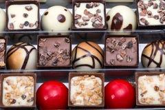 Chocolate pralines Royalty Free Stock Image