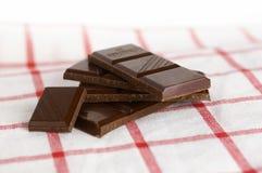 Chocolate preto imagem de stock