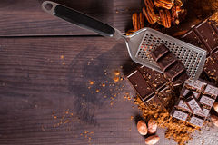 Chocolate products Stock Image