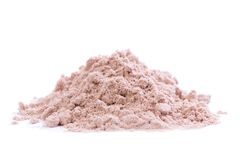 Chocolate Protein Powder with Stevia Stock Images