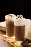 Chocolate Pudding Stock Photography