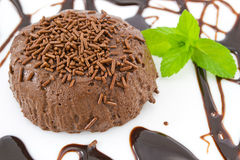 Chocolate pudding Royalty Free Stock Image