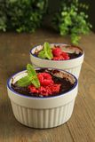 Chocolate pudding Royalty Free Stock Images