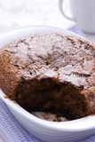 Chocolate Pudding Stock Image