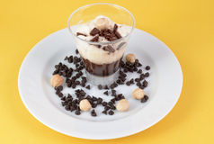 Chocolate pudding Royalty Free Stock Photos