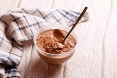 Chocolate Pudding Stock Photos