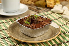 Chocolate Pudding royalty free stock photography