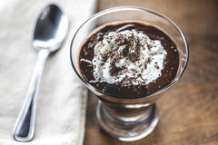 Chocolate Pudding Royalty Free Stock Photo