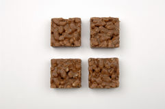 Chocolate puffed rice Stock Photo