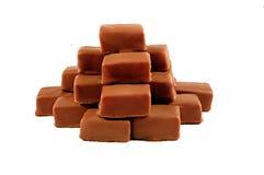 Chocolate pyramid Royalty Free Stock Photos