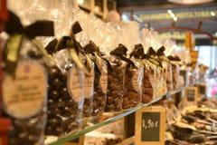 Chocolate qualquer um? imagem de stock