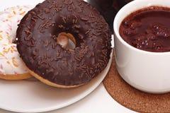 Chocolate quente. Imagem de Stock