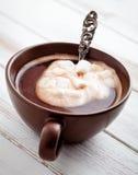 Chocolate quente fotografia de stock