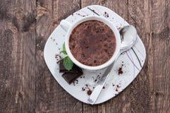 Chocolate quente fotos de stock