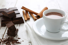 Chocolate quente Imagens de Stock Royalty Free