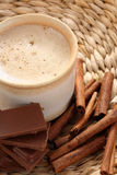 Chocolate quente Fotografia de Stock Royalty Free