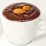 Chocolate quente em mug3 branco Fotografia de Stock