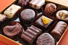 Chocolate raisin Stock Photos