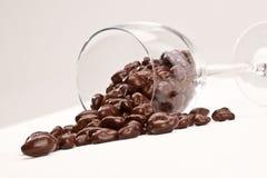 Chocolate raisins Royalty Free Stock Images