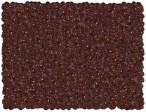 Chocolate raisins background Stock Images