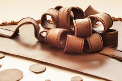 Chocolate Ribbons Stock Photo