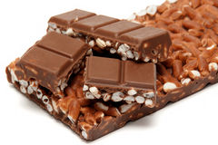 Chocolate with rice Royalty Free Stock Photography