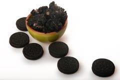 Chocolate Rice Pudding Royalty Free Stock Image