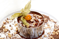 Chocolate risotto dessert Royalty Free Stock Image