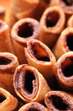 Chocolate rolls Royalty Free Stock Images