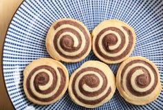 Chocolate rolls. Stock Photo