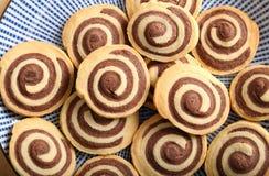 Chocolate rolls. Royalty Free Stock Photo