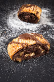 Chocolate Rugelach Royalty Free Stock Photo