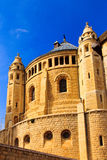 Abbey of Dormition in Old City of Jerusalem, Israel Stock Photo