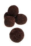 Chocolate Rum Truffles Royalty Free Stock Photos