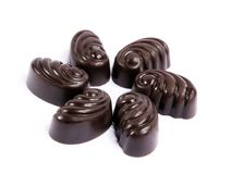 Chocolate's gathering Stock Images