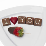 Chocolate Saint Valentine Royalty Free Stock Photo